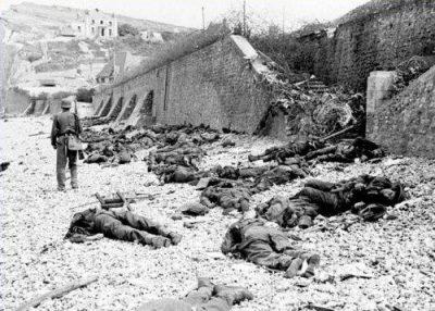 desembarco anfibio en Dieppe segunda guerra mundial