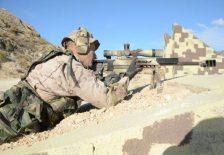 entrenamiento francotirador legión española
