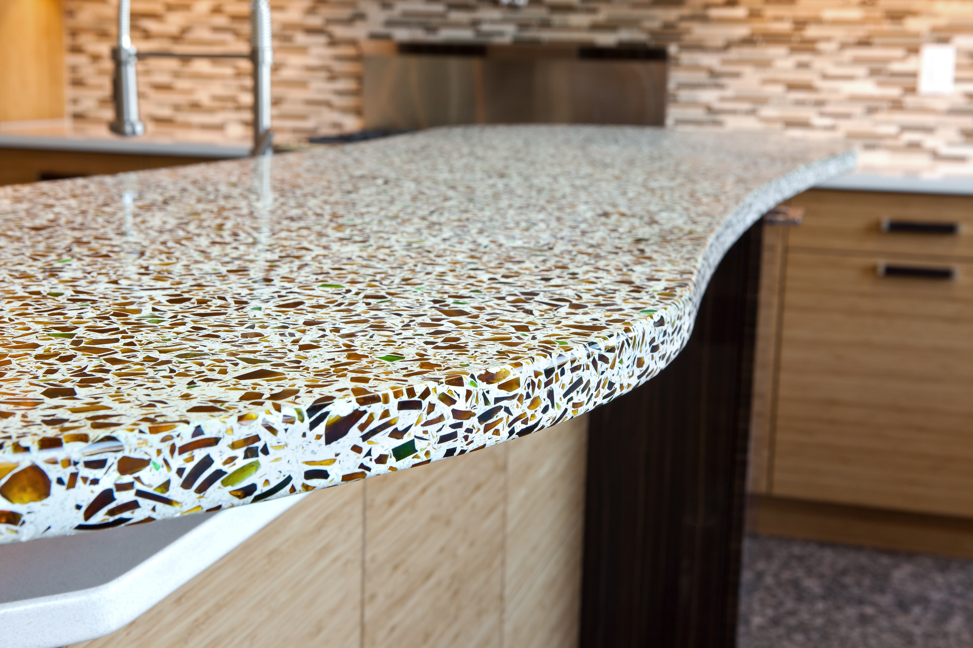 The Pros Cons Of Gl Countertops