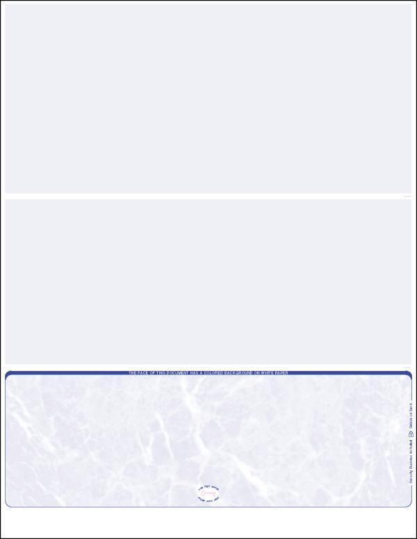 Reflex Blue Marble Bottom Blank Laser Check