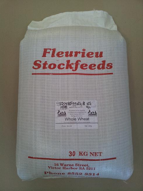 Fleurieu Stockfeeds Whole Wheat - 30kg
