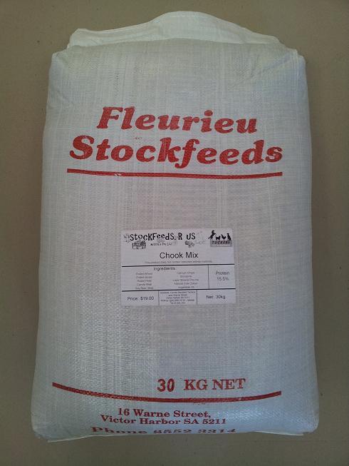 Fleurieu Stockfeeds Chook Mix - 30kg