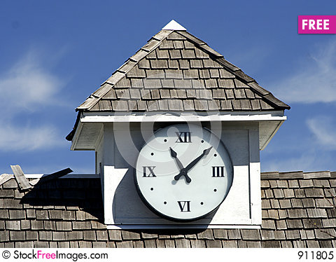 Free Clock Tower Royalty Free Stock Photo - 911805
