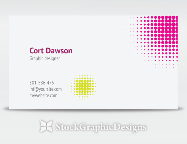 Designer business card vector vector photoshop brushes stock graphic designs for Business card template vector