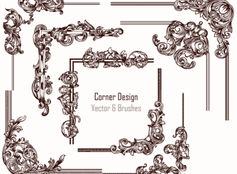 Floral & Decorative | Vector & Photoshop Brushes | Stock Graphic Designs