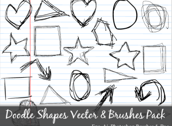 doodle-shapes-circle-square-star-triangle-heart-vector-photoshop-brushes-pack