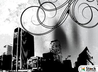 free-urban-landscape-vector