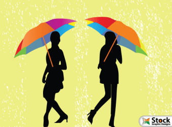 girls-umbrella-walking-rain-vector-illustration