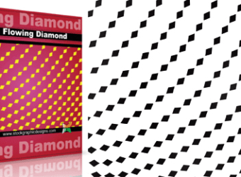 vector_and_brush_flowing_shapes_diamond_