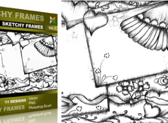 vector_brush_sketchy_frames_Vol_1
