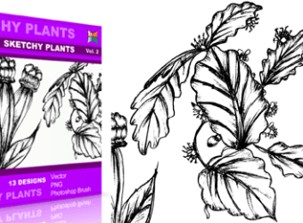 vector_brush_sketchy_plants_2