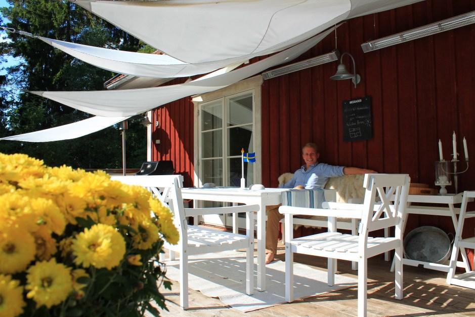 Ferienhaus Stockholm mit großer Terrasse in Schweden.