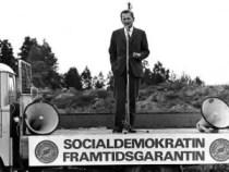 Olof Palme, Almedalen - 1968