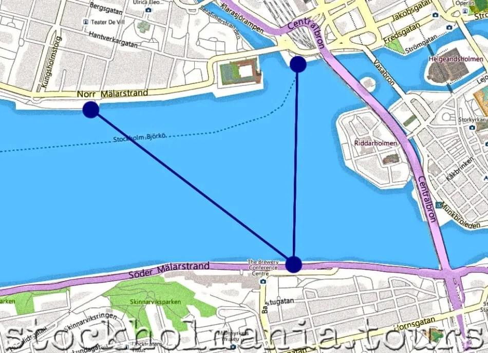 La linea 85: un battello nel lago Mälaren 2
