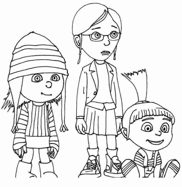 Free coloring pages despicable me – Download Free Coloring pages