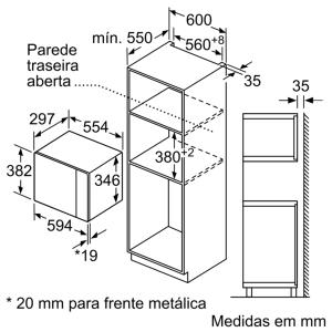 MICRO ONDAS BOSCH BFL520MS0