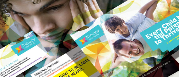 Adolescent Counseling & Mental Health Brochure, Postcard, Stationery, Poster and Flyer & Ads Designs
