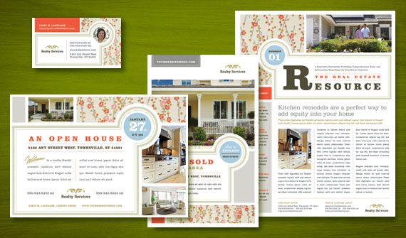 Real Estate Marketing - Home for Sale Flyer & Ad Designs