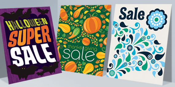 Holiday & Seasonal Poster Designs