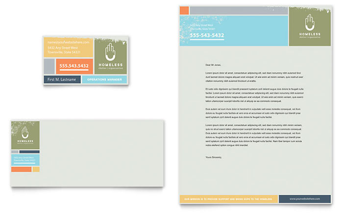 Business Card Example - Adobe InDesign Template