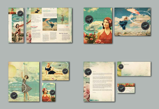 Brand Identity Design - Vintage Fashion