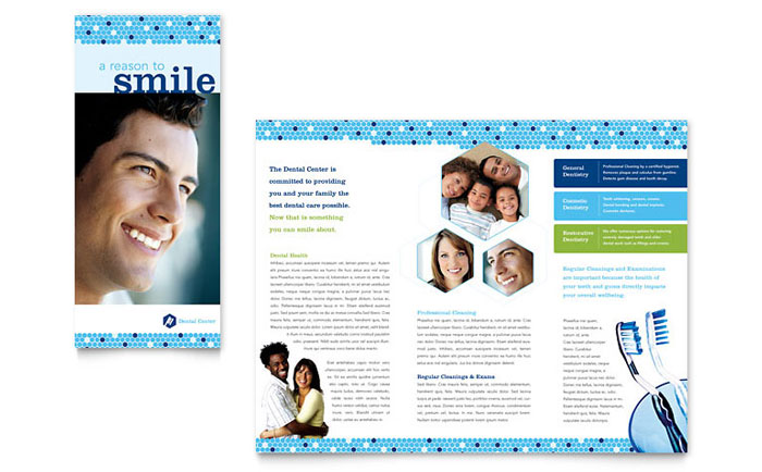 Dentist Brochure Design Idea