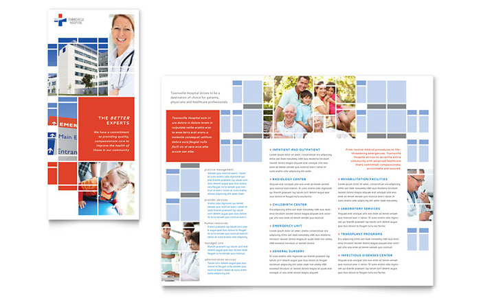 Hospital Brochure Design Idea