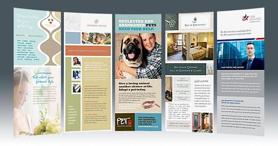 DL Flyers, DL Brochures, and DL Pamphlets