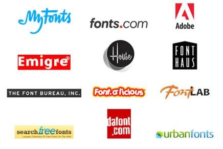 Comprehensive List of Font Providers: Free & Premium Fonts