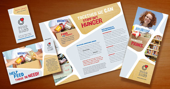 Food Bank Brochures, Flyers, Posters