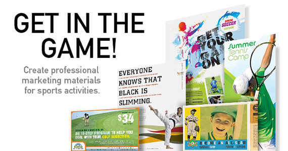 Business Marketing Templates – Sports & Fitness