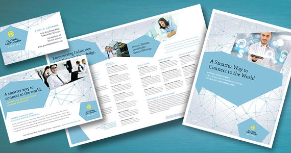 Business Marketing Templates – Global Network Services