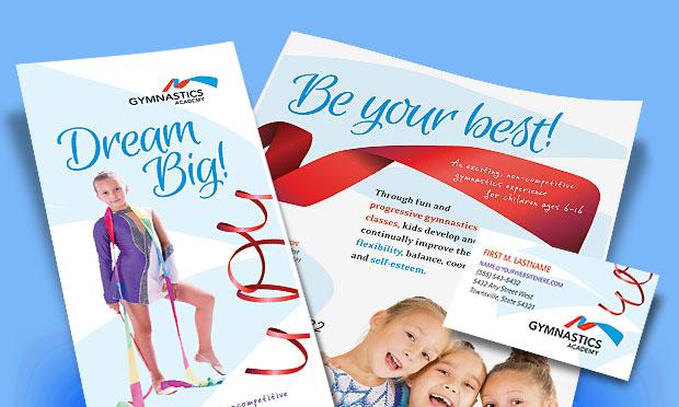 Gymnastics Academy - Marketing Materials