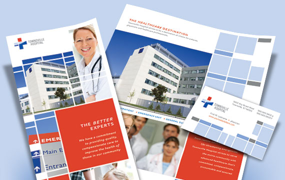 Hospital Graphic Designs - Brochures, Ads, Flyers