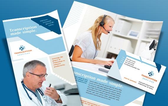Medical Transcription Business - Graphic Designs