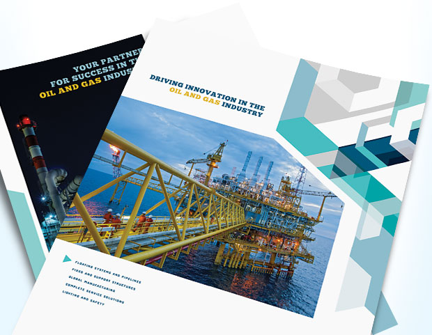 Creative Graphic Designs For Marketing An Oil Gas