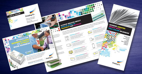 Business Marketing Templates – Printing Company