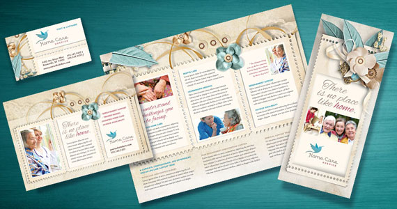 Hospice & Home Care Services Brochures, Flyers, Newsletters