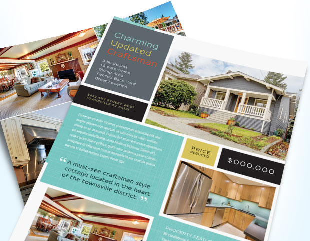 Real Estate Flyer Design Examples
