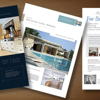 Real Estate Flyer Templates Edit And Print StockLayouts Blog - Property brochure template