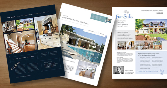 Real Estate Flyer Templates To Market Your Property