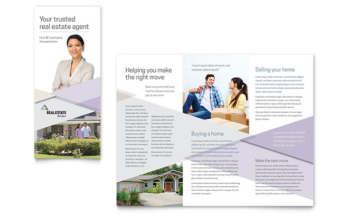 Marketing materials for realtors diy printable templates for Marketing brochures templates