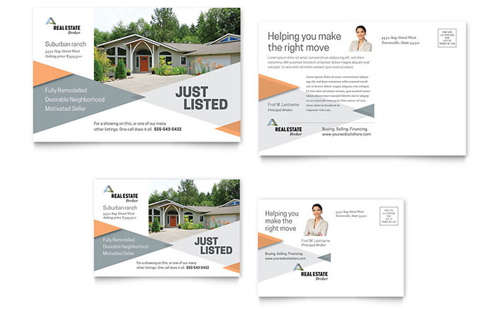 Realtor Marketing Postcard