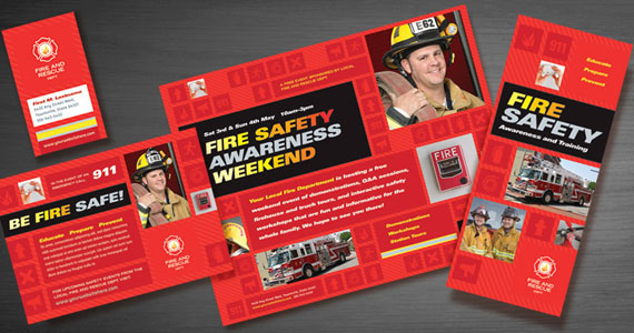 Spread Fire Safety Awareness with Promotional Graphic Designs ...