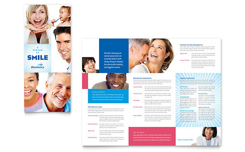 Dental Office Brochure Ideas