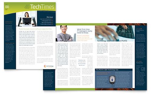 Free Sample Newsletter Design