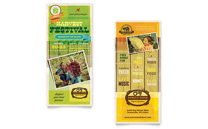 X Rack Cards Brochures Flyers StockLayouts Blog - Rack card template publisher