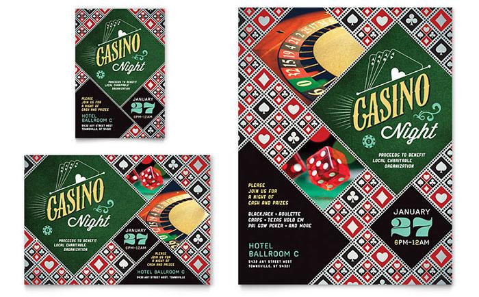 Casino Night - Flyer Design Idea