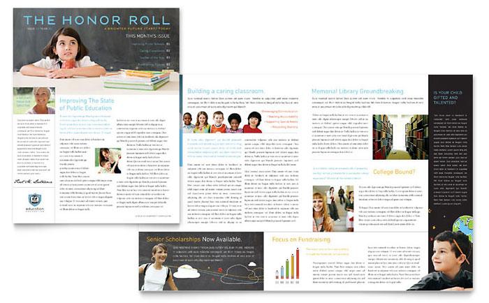 Classroom Newsletter Design