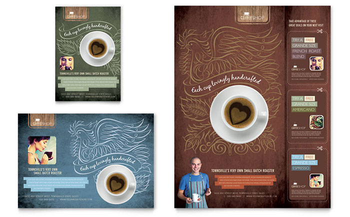 Coffee Shop Flyer Design